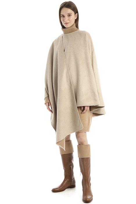 Pure cashmere cape Intrend