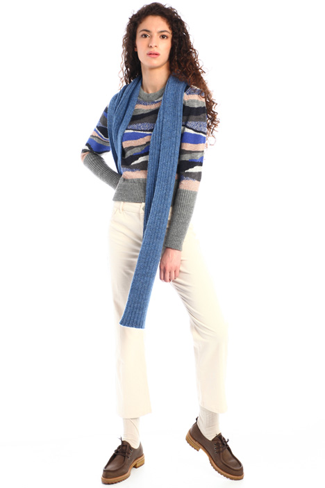 Ribbed scarf Intrend