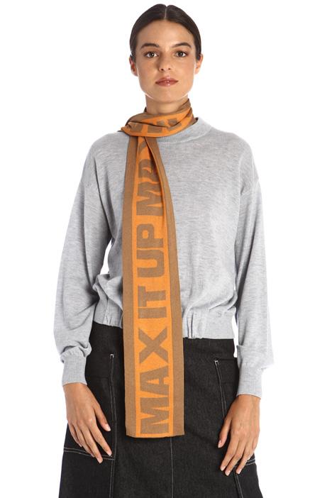 Sciarpa in maglia jacquard Intrend