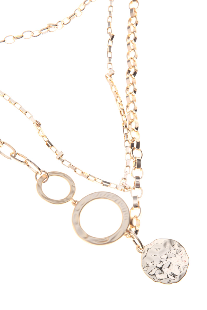 Asymmetrical chain necklace Intrend