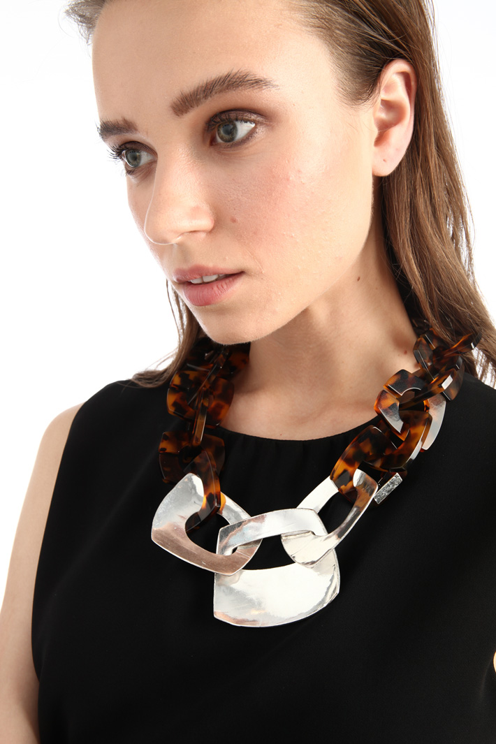 Necklace with chains Intrend