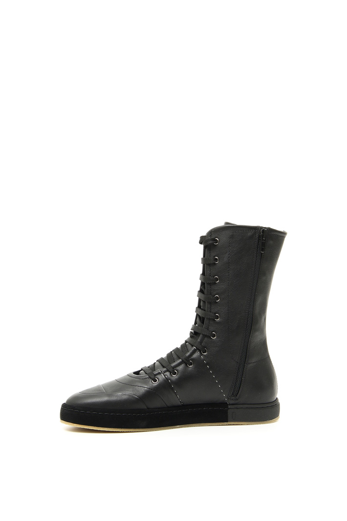 Leather boxeur sneakers Intrend