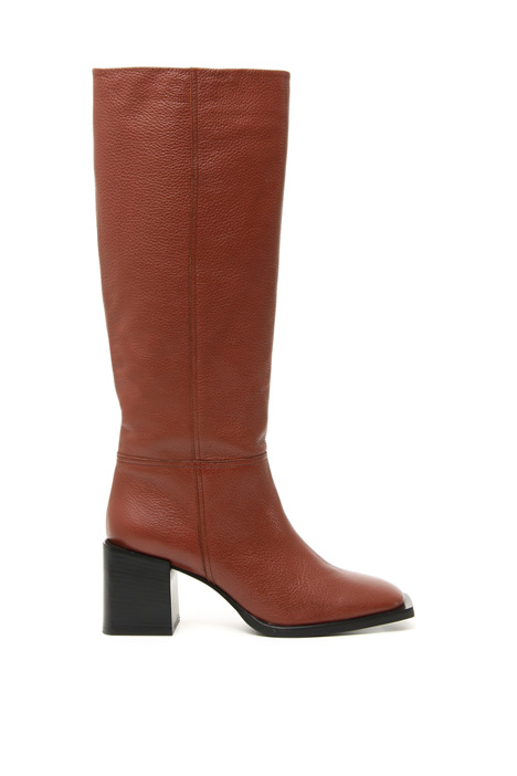 Squared toe boots Intrend