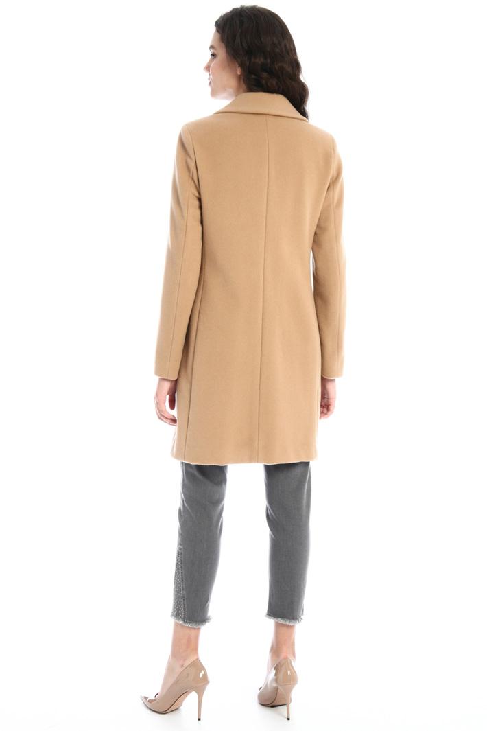 Velour coat Intrend