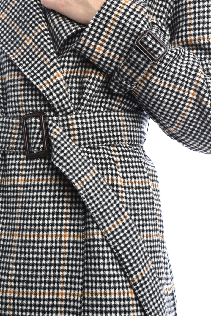 Wool blend trench coat Intrend