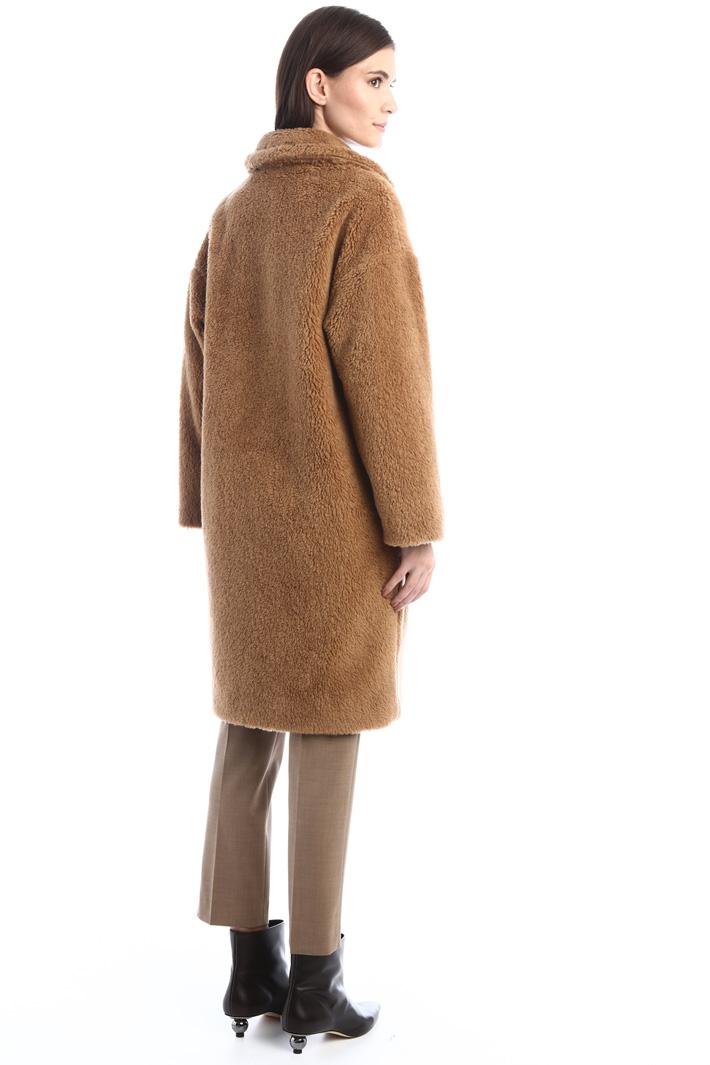 Cappotto effetto peluche Intrend