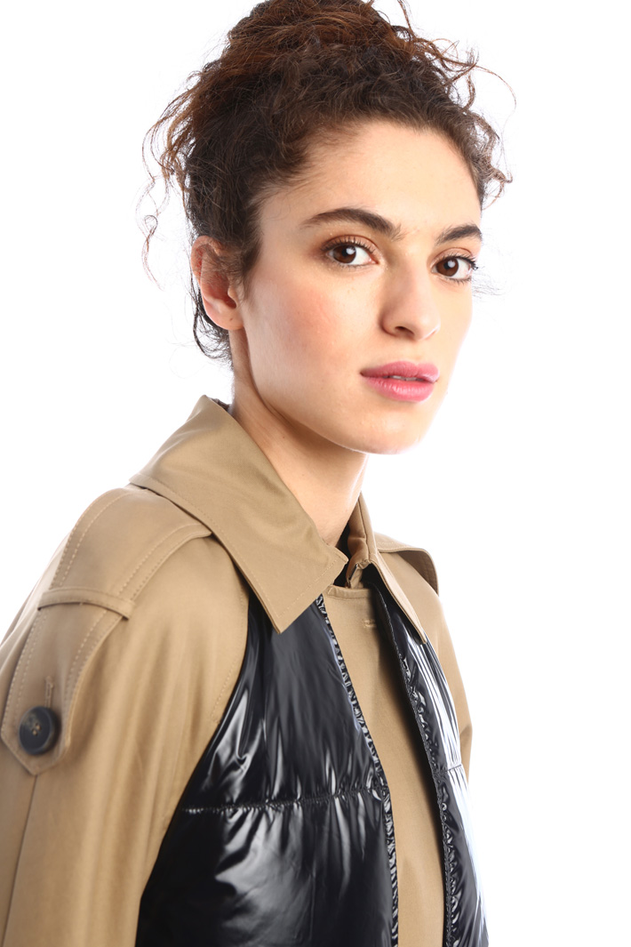 Twill and cady trench coat Intrend
