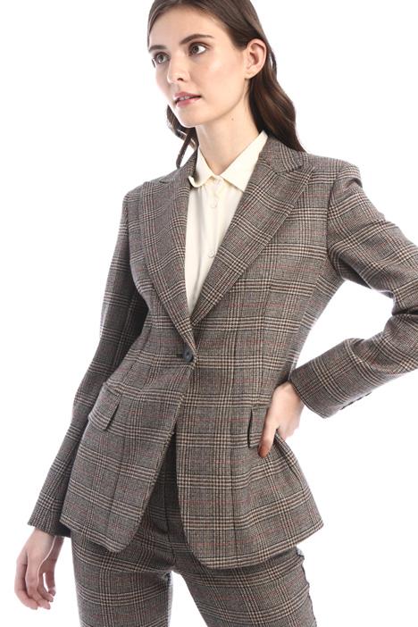 Blazer in batavia di lana Intrend