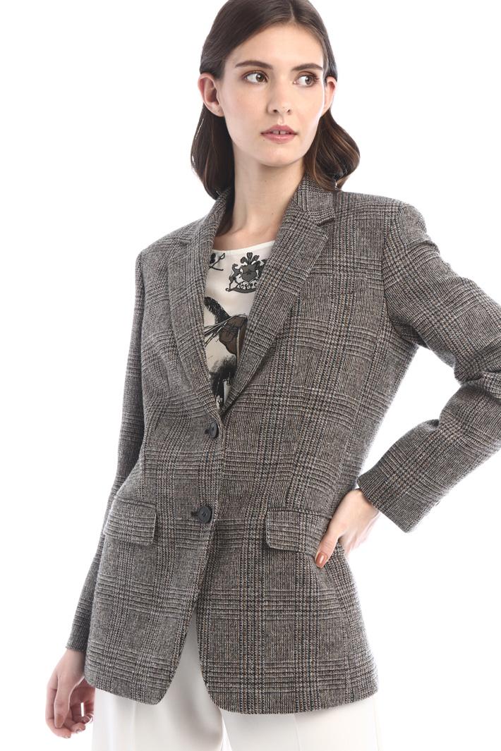 Wool blend blazer Intrend