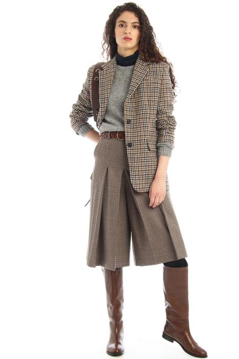 Wool tweed blazer Intrend