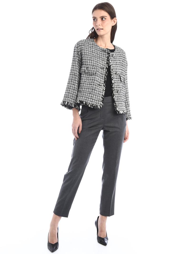Tweed-effect jacket Intrend