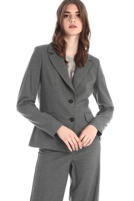 Lurex flannel blazer Intrend