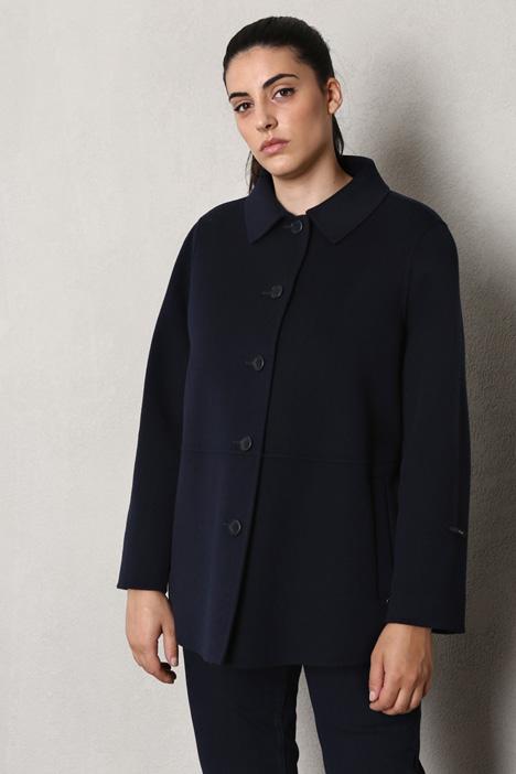Double wool pea coat Intrend