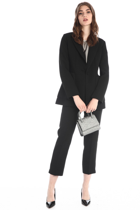 Compact jersey suit Intrend