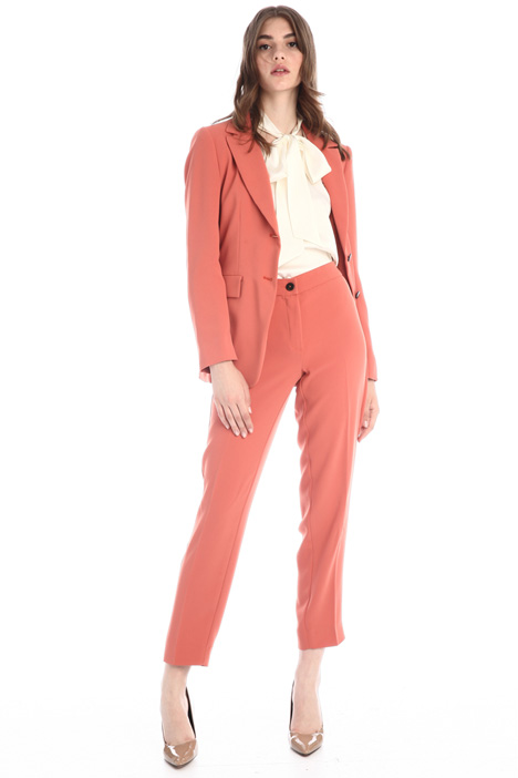 Trouser suit in crepe fabric Intrend