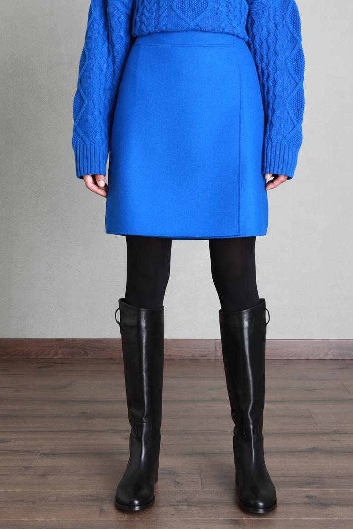 A-line wool skirt Intrend