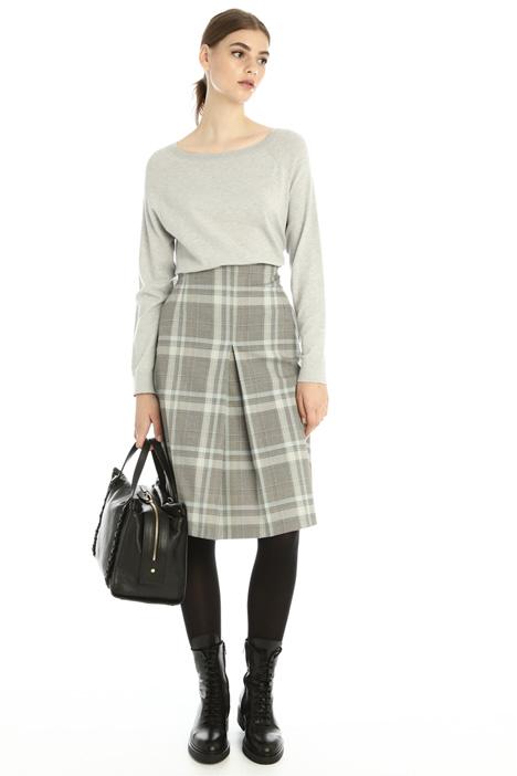 Central pleat skirt Intrend