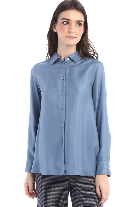 Washed silk shirt Intrend