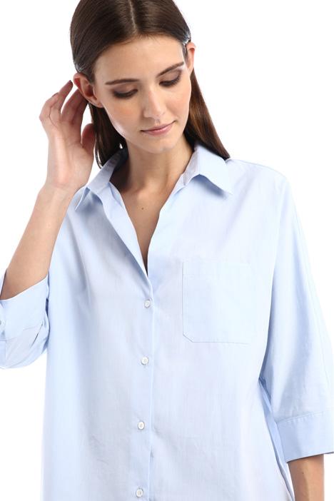 Kimono sleeve poplin shirt Intrend