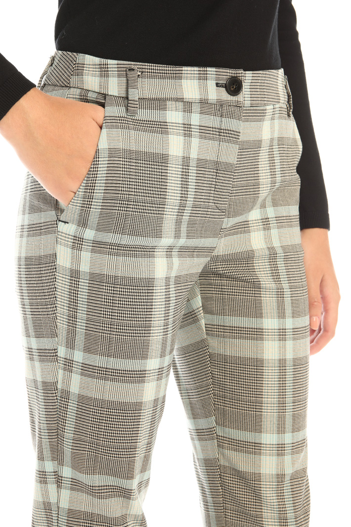 Printed viscose trousers Intrend