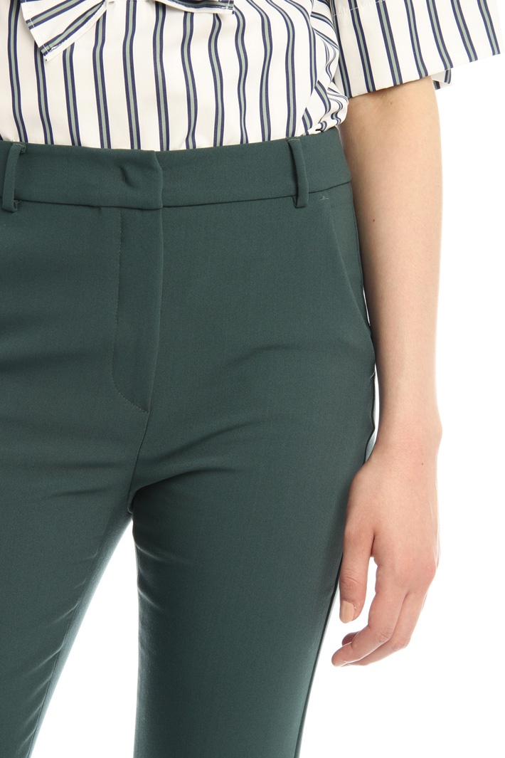 Viscose canvas trousers Intrend