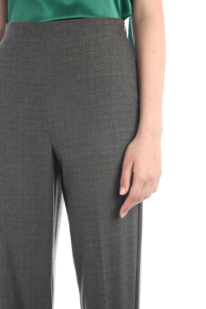 Flannel trousers Intrend