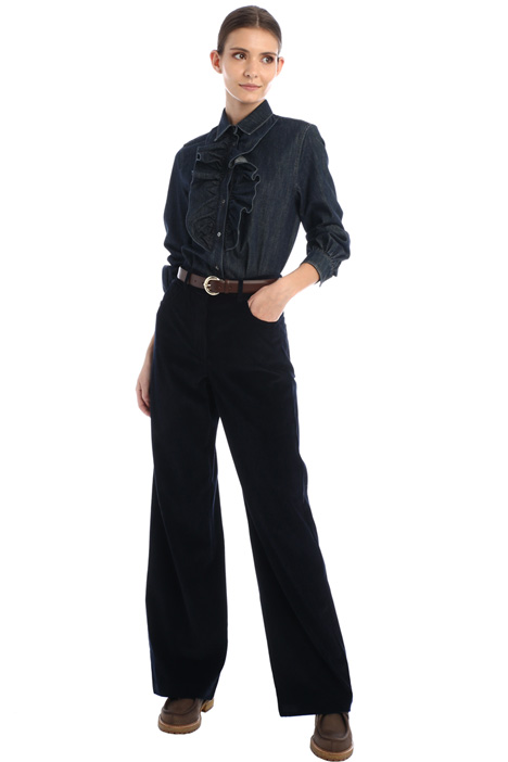 Cotton corduroy trousers Intrend