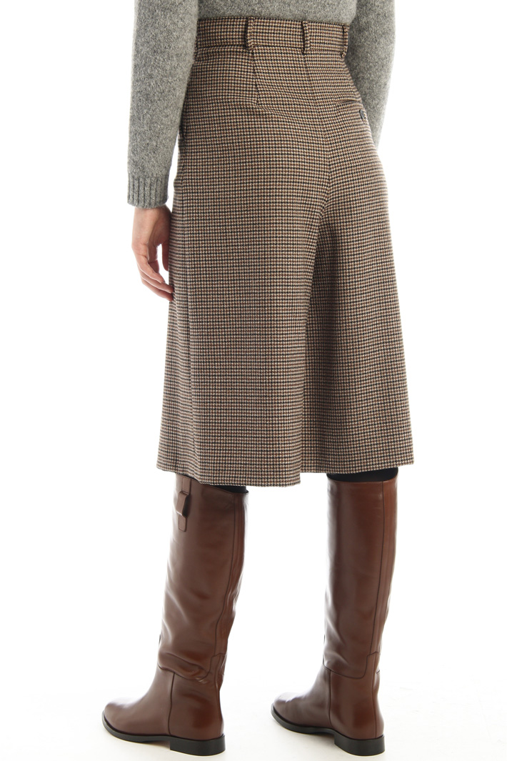 Wool twill trousers Intrend