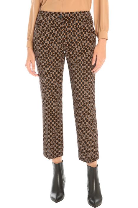 Pantaloni in tessuto compatto Intrend
