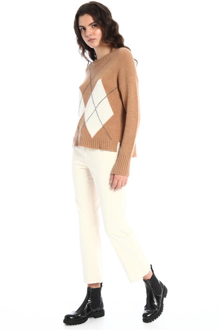 Velvet trousers Intrend