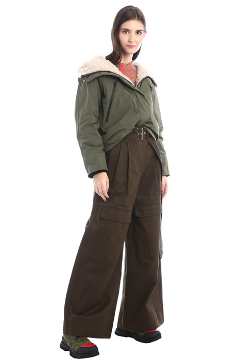 Baggy twill trousers Intrend