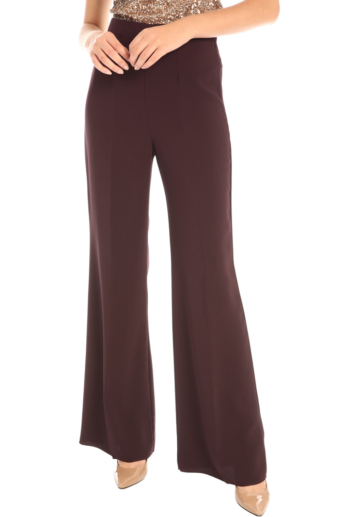 Crepe palazzo trousers Intrend