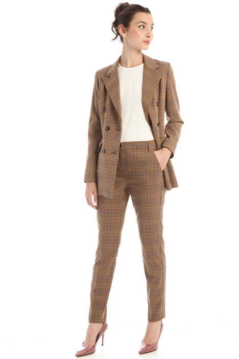 Patterned viscose trousers Intrend