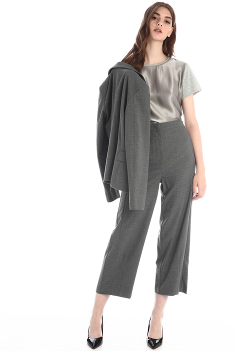 Flannel baggy trousers Intrend
