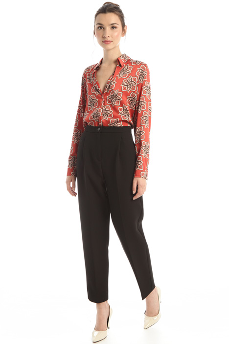 Viscose carrot trousers Intrend
