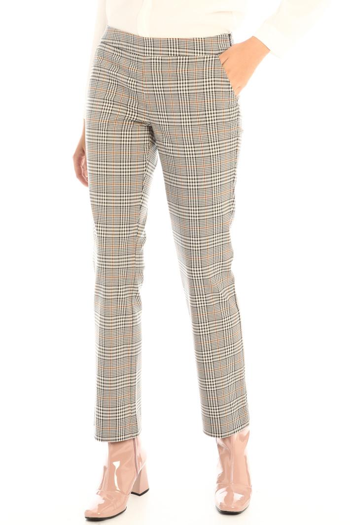 Straight leg viscose trousers Intrend