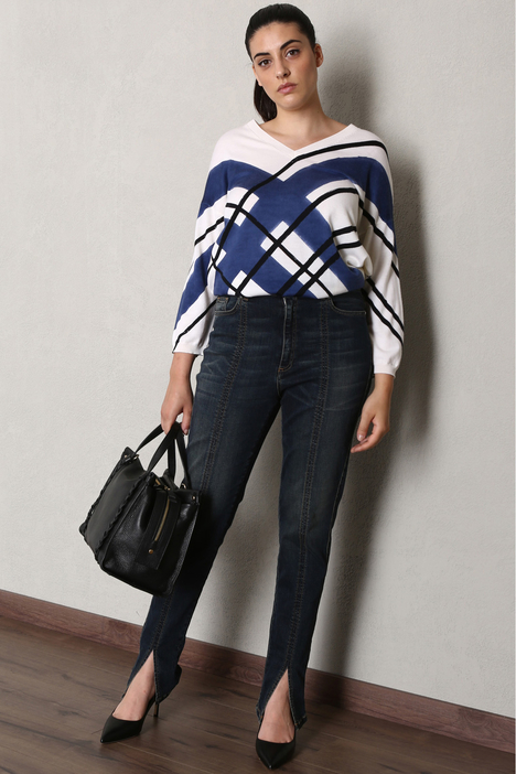 Jeans with slits Intrend