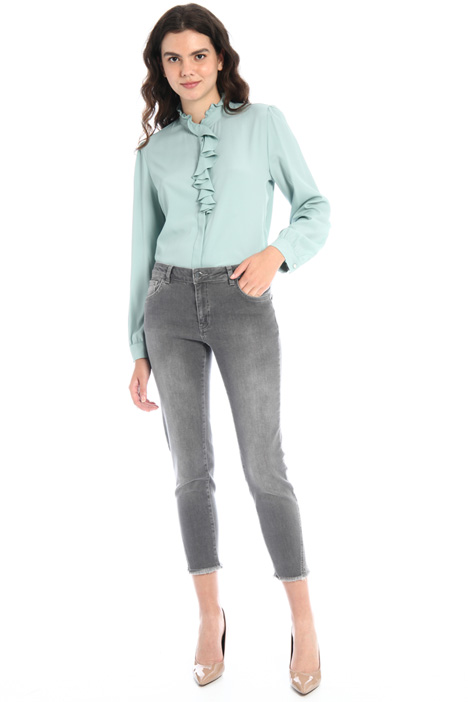 Rhinestone-detailed jeans Intrend