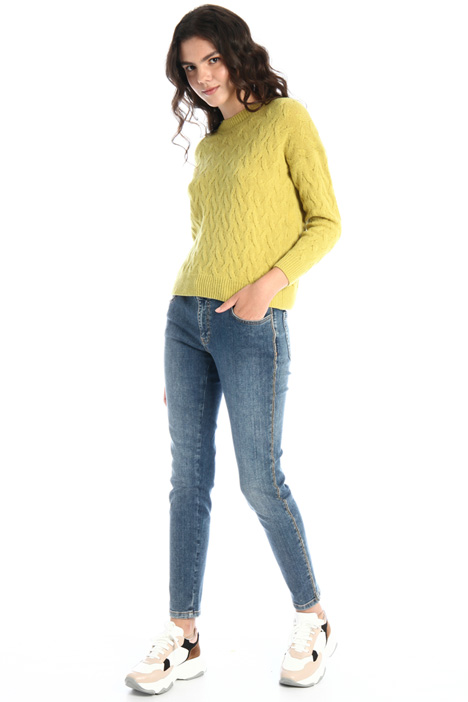 Skinny jeans with rhinestones Intrend