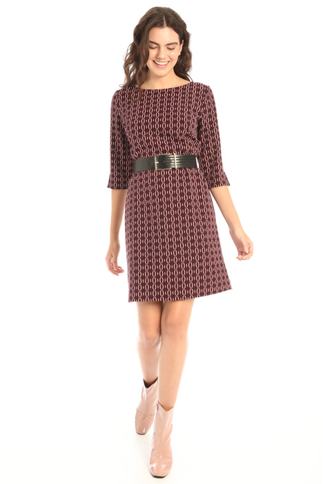 Patterned tunic dress Intrend