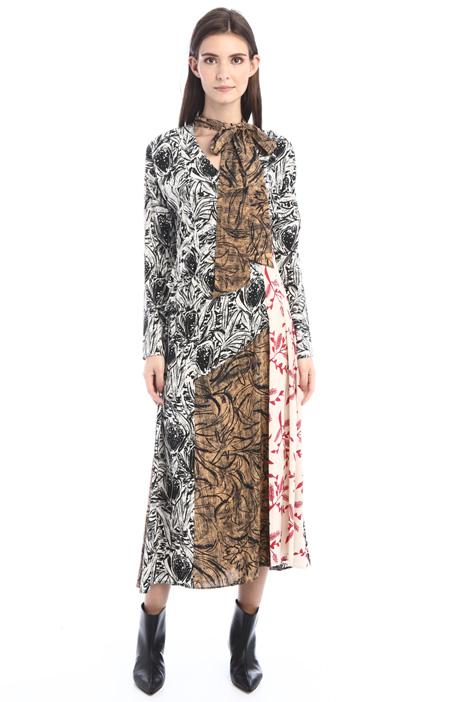 Silk crepe de chine dress Intrend