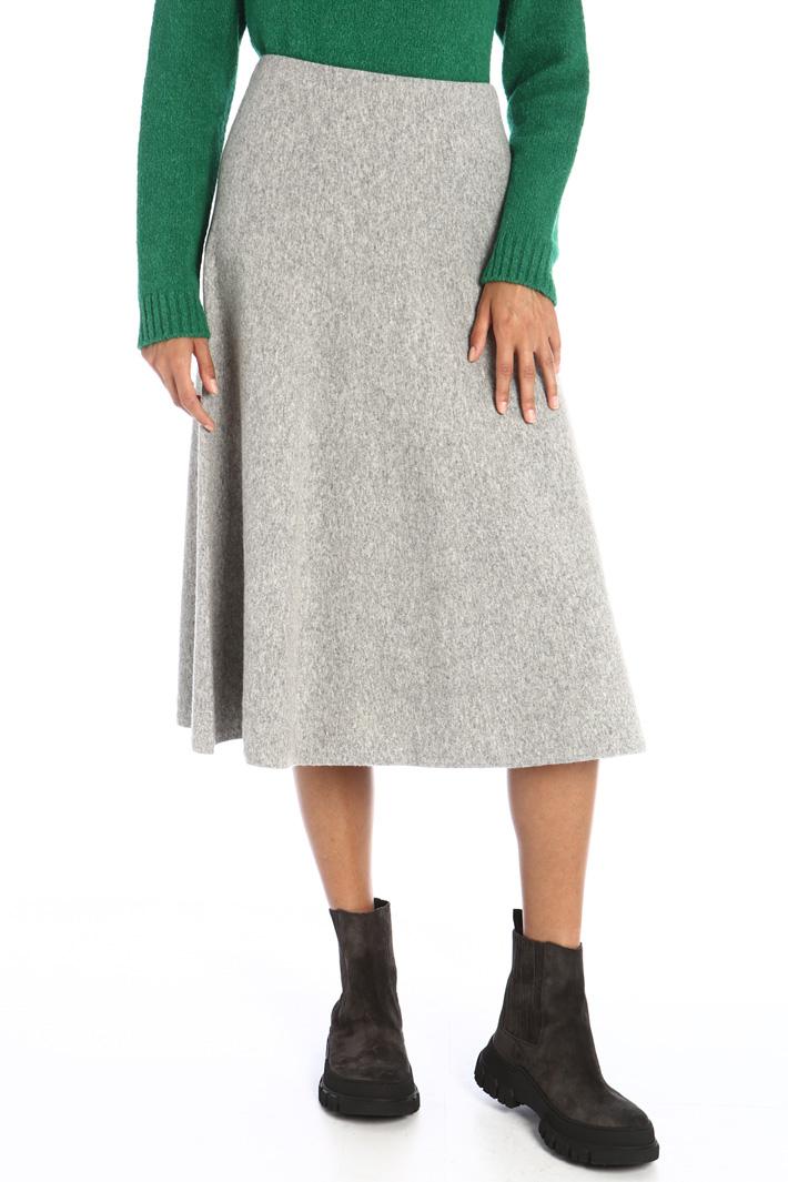 Knit wool skirt Intrend