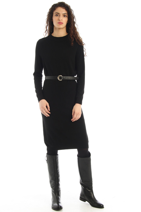 Silk and wool dress Intrend