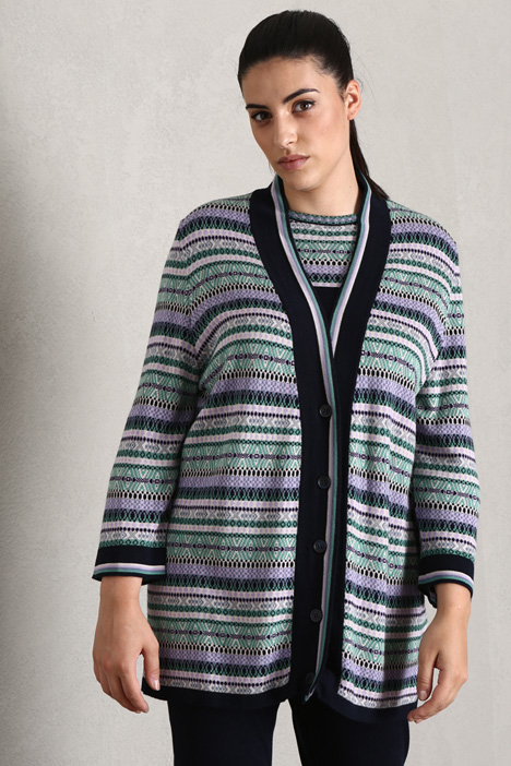 Mixed wool cardigan Intrend