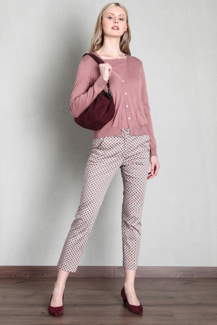 Silk and cotton cardigan Intrend
