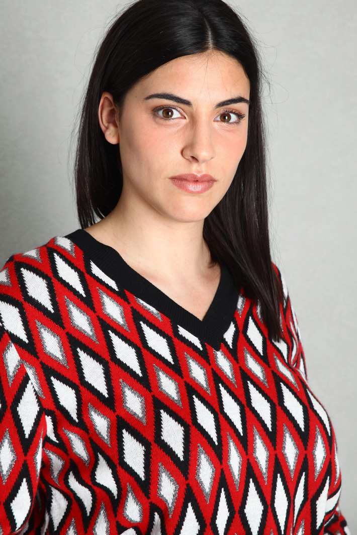 Yarn dyed sweater Intrend