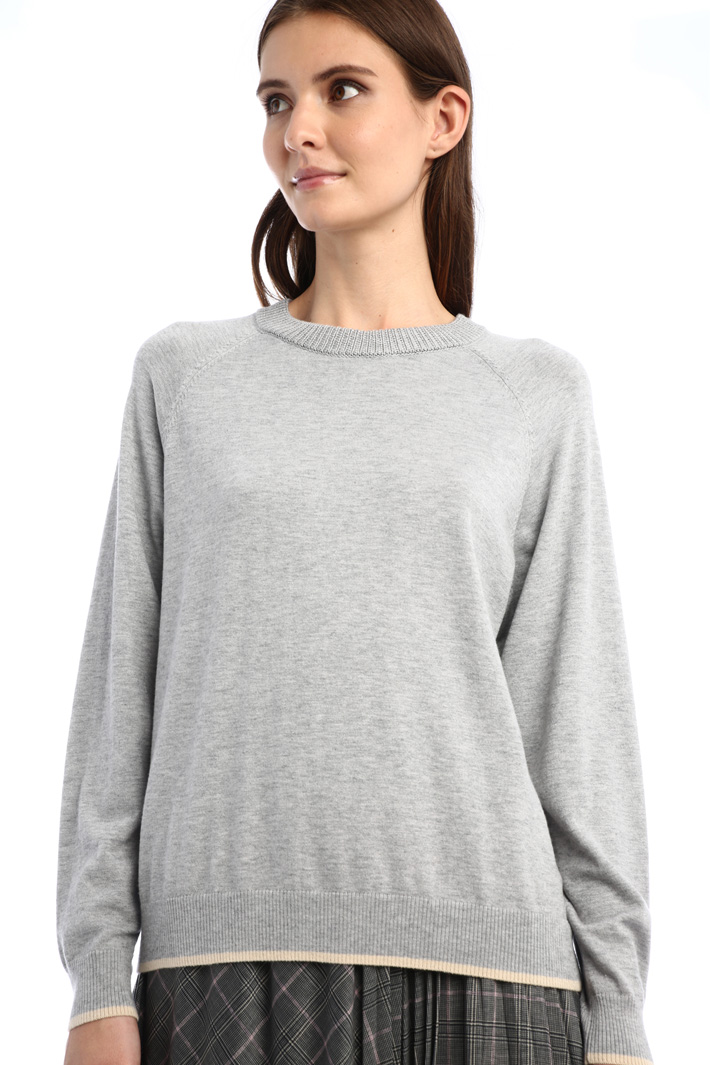 Silk and wool sweater Intrend