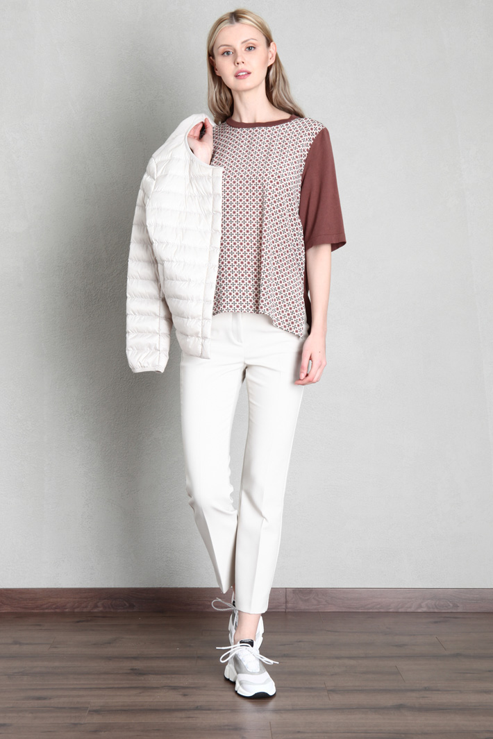Double fabric sweater Intrend