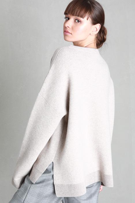 Reversible wool sweater Intrend