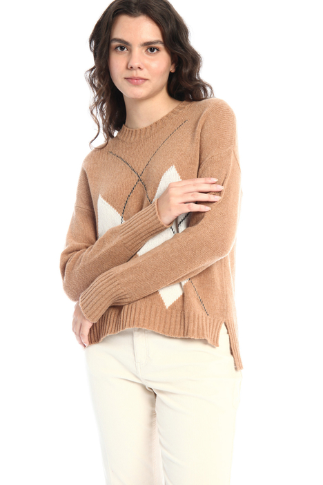Inlaid sweater Intrend